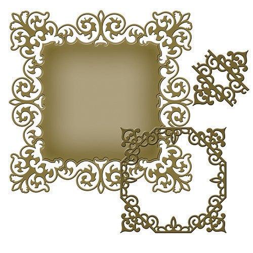 Spellbinders - Fustelle Nestabilities Majesty, colore: oro