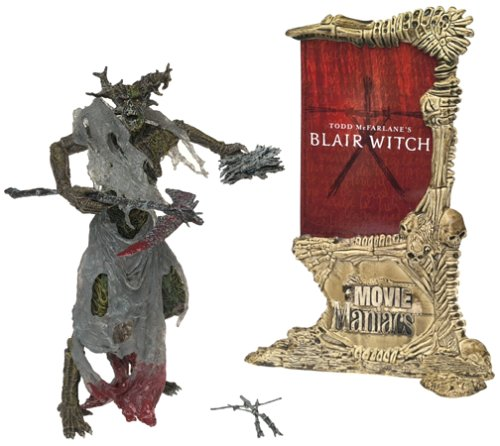 Picture of McFarlane Movie Maniacs Series 4 Blair Witch (Treehead) Action Figure (B00005NFSY) (McFarlane Action Figures)