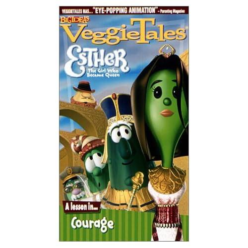 Amazon Com Veggietales Esther The Girl Who Became