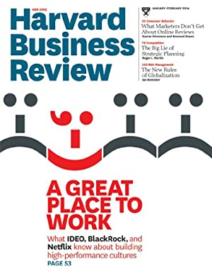 Harvard Business Review magazine Kindle edition