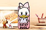New Cute Disney Cartoon Daisy Duck Silicone Soft Back Mobile Phone Case Cover for Iphone 4 4s