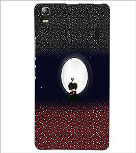 PrintDhaba Cartoon D-5073 Back Case Cover for LENOVO K3 NOTE (Multi-Coloured)