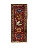 L'Eden del Tappeto Alfombra Yalameh Rojo / Multicolor 195  x  83 cm