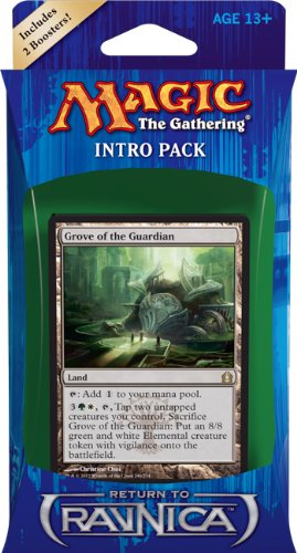 Magic the Gathering RTR: MTG: Return to Ravnica Intro Pack: Selesnya Surge Theme Deck (Includes 2 Booster Packs)