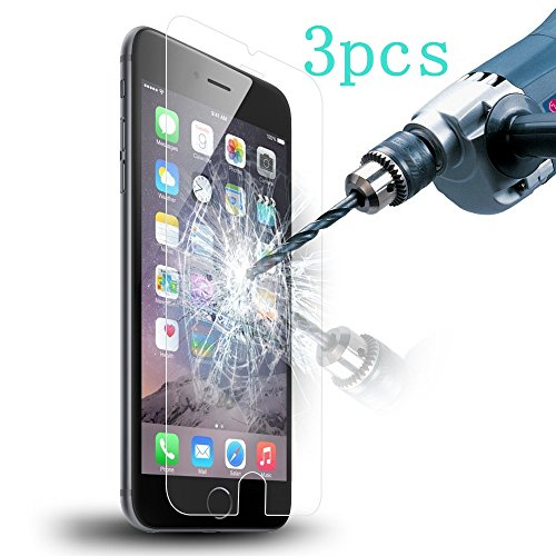"""Acatim iPhone 6 Tempered Glass Screen Protector - 5.5"""" L - 3 Piece"""