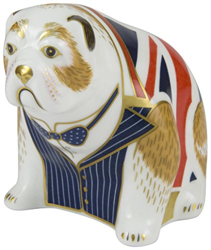 royal-crown-derby-edicion-limitada-de-500-winston-churchill-bulldog-pisapapeles-porcelana-multicolor