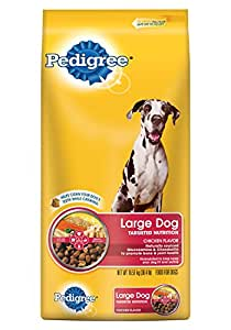 PEDIGREE Adult Large Breed Chicken Flavor Dry Dog Food 55 Pounds
