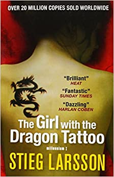 The girl with the dragon tattoo millennium trilogy book 1 for Book series girl with the dragon tattoo