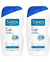 Sanex Douche et Bain Dermo Kids 500 ml Lot de 2