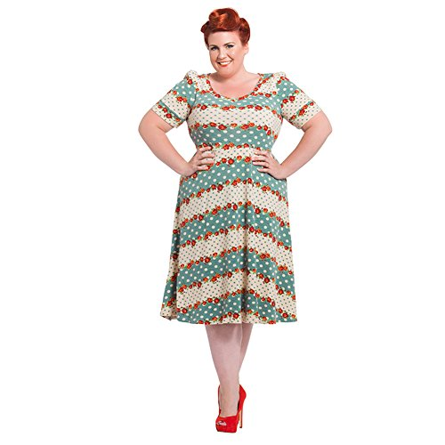 Abito Voodoo Vixen Faith Plus Size (Multicolore) - XXXX-Large