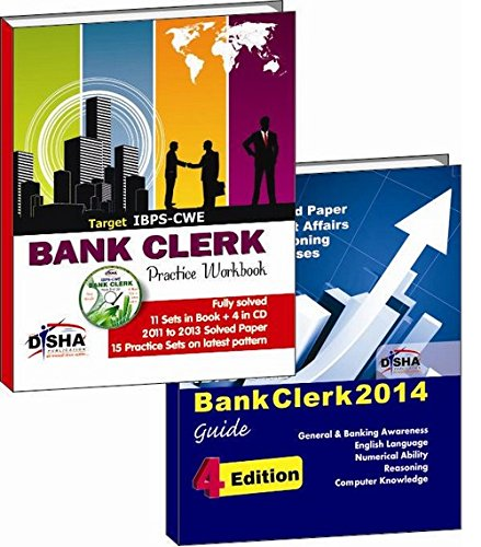 IBPS-CWE Bank Clerk 2014: Simplified Guide + 15 Practice Sets (with CD)