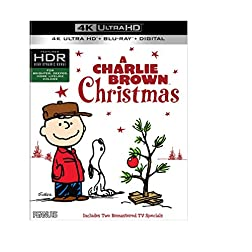 A Charlie Brown Christmas [4K Ultra HD + Blu-ray]