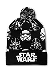 Loungefly Star Wars Black & White Darth Vader/Stormtrooper Beanie