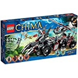 Lego Legends of Chima - Playthèmes - 70009 - Jeu de Construction - Le Char de Combat Loup