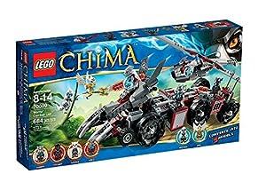 Lego Legends of Chima 70009 - Worriz' Großer Wolfstruck