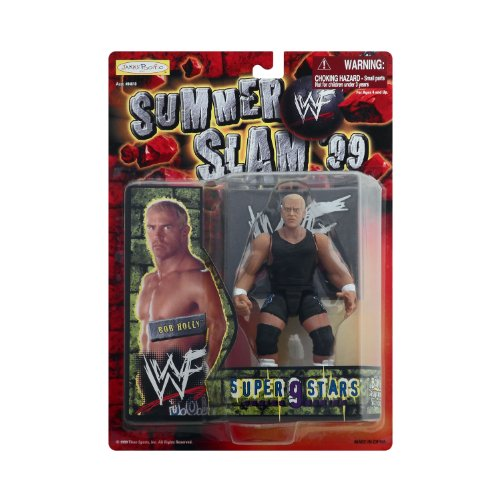 WWF Summer Slam 99 Superstars 9 Bob Holly By Jakks 1999