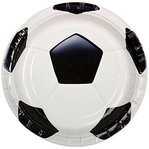 Soccer Luncheon Plates - 8/Pkg. - 1