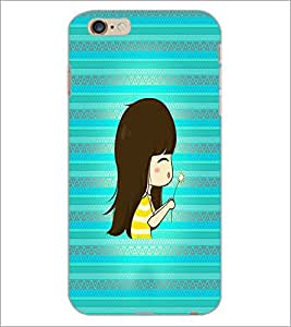 PrintDhaba Skeleton D-4235 Back Case Cover for APPLE IPHONE 6 (Multi-Coloured)