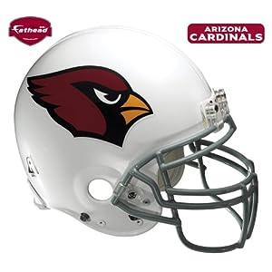 Fathead Arizona Cardinals Helmet Wall Decal by Fathead