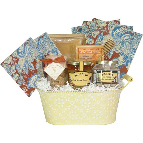 Love Honey Deluxe French Gourmet and Soap Gift Basket