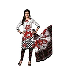Siddhi Unstitched Cotton Printed Salwar Suit Dupatta Material ( 2003 )