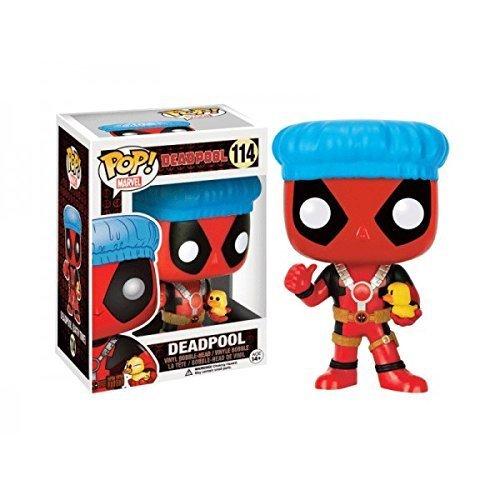 Funko POP! Marvel Bath Time Deadpool Exclusive 114 Vinyl Bobble-Head by POP!