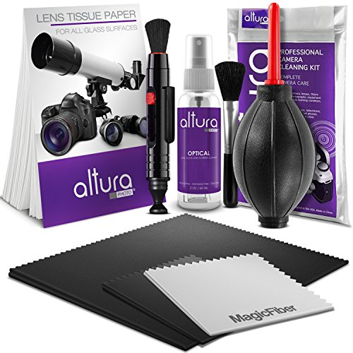Altura Photo Professional Cleaning Kit for DSLR Cameras and Sensitive Electronics Bundle with 2oz Altura Photo Spray Lens and LCD Cleaner (Camera Lenses Cleaner compare prices)