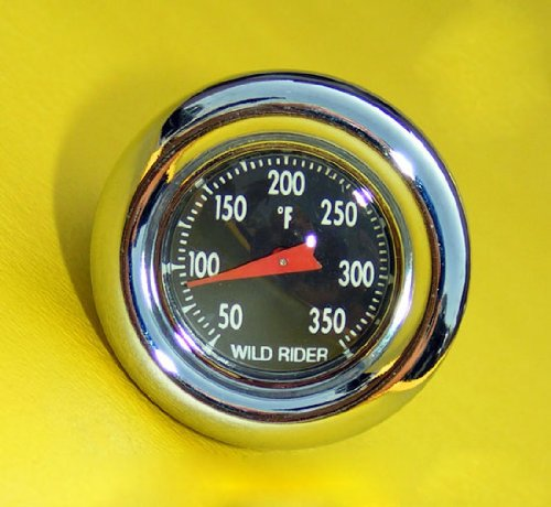 Oil Plug / Temperature Gauge for Harley-Davidson Big Twins Oil Tanks (Oil Temperature Dipstick compare prices)