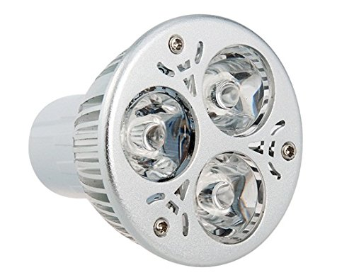 Gu10 3W 85-265V Rgb Led Spot Bulb With Remote Control