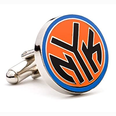 New York Knicks NBA Logo'd Executive Cufflinks w/Jewelry Box