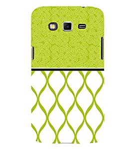 Greenish Self Design 3D Hard Polycarbonate Designer Back Case Cover for Samsung Galaxy Grand Neo Plus :: Samsung Galaxy Grand Neo Plus i9060i
