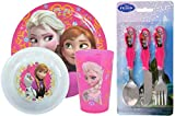 Disney Frozen 6-Piece Dinner Set | Mealtime | Dinnerware