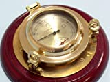 Brass Porthole Barometer & Thermometer 7