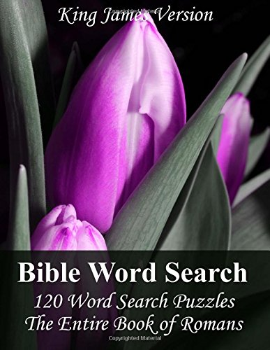 King James Bible Word Search (Romans): 120 Word Search Puzzles with the Entire Book of Romans in Jumbo Print