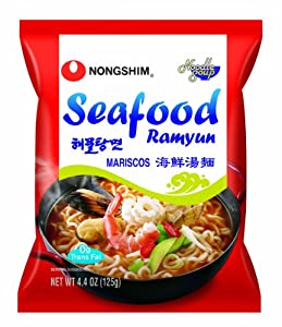 Nongshim Seafood Noodle Ramyun 44-ounce Packages Pack Of 20 from NONGSHIM