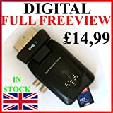 NEW Freeview Digital TV Receiver Tuner Scart Set Top Box &amp; Recorder ANALOGUE TO DIGITAL TELEVISION CONVERTER 1 YEAR WHATEVER HAPPENS WARRANTY Record &amp; Watch Via USB &amp; SD CARD