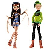 Monster High Boo York, Boo York Comet-Crossed Couple Cleo de Nile and Deuce Gorgon Doll, 2-Pack