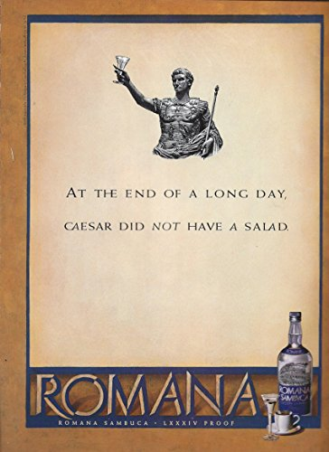 print-ad-for-romana-sambuca-alcohol-caesar-did-not-have-saladprint-ad