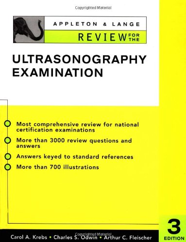 Appleton & Lange Review for the Ultrasonography...