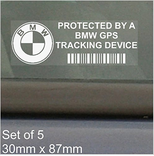 5-adesivi-per-finestrino-protezione-dispositivo-di-tracciamento-BMW-GPS-87-x-30-mm-3-4-5-6-7-E-M-F-G-Series