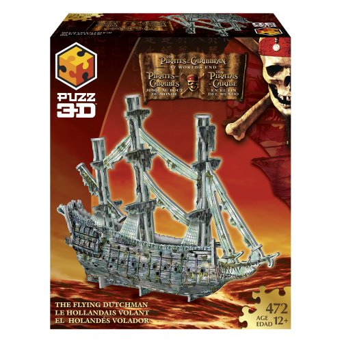Cheap Hasbro PUZZ 3D Pirates of the Caribbean 3 – Flying Dutchman (B000OMY60E)