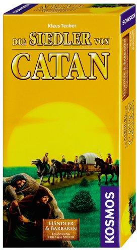 Kosmos  6934040 – Die Siedler von Catan – Händler und Barbaren Ergänzung für 5 – 6 Spieler