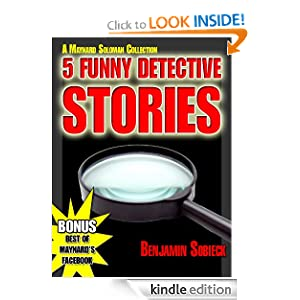 free kindle e-book funny detective