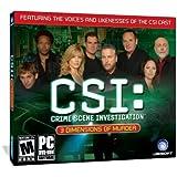 CSI: 3 Dimensions Of Murder (Jewel Case)