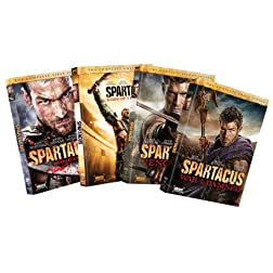 Spartacus Seasons 1-4 Bundle [DVD]