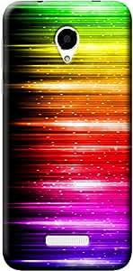 Fashionury Printed Back Case Cover For Micromax Q370 -Print34679