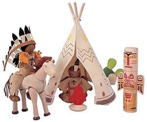 Plan Toys Native American Set