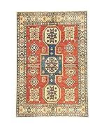 L'EDEN DEL TAPPETO Alfombra Uzebekistan Rojo/Multicolor 118 x 173 cm