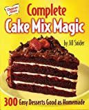Duncan Hines Complete Cake Mix Magic