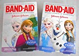 Band Aid Disney Frozen Assorted Bandages 20 Ct (2 Pack)